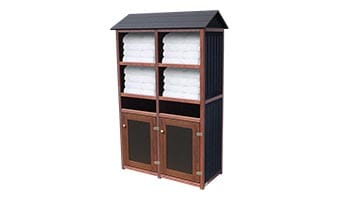Black Forest Original Double Towel Station