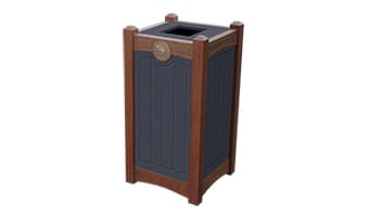 Black Forest Luxury 18 Gallon Waste Enclosure
