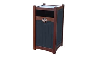 Black Forest Luxury 26 Gallon Waste Enclosure