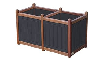 Black Forest Original Double Planter Box