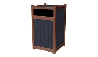 Black Forest Hampton 55 Gallon Waste Enclosure