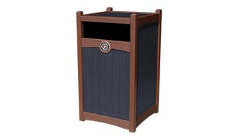 Black Forest Luxury 55 Gallon Waste Enclosure