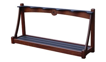 Black Forest Luxury Single-Sided Bag Rack