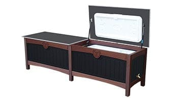 Black Forest Luxury Double 100 Quart Ice Chest
