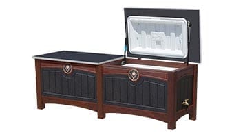 Black Forest Luxury Double 52 Quart Ice Chest