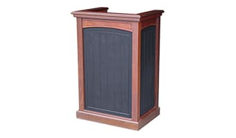 Black Forest Pedestal Top Starter's Podium