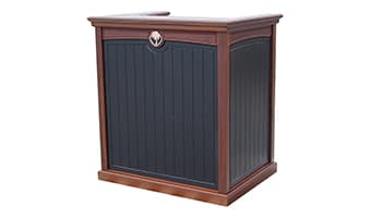 Black Forest Pedestal Top Greeting Podium
