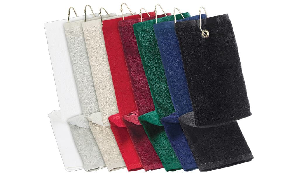 Heavy Weight Golf Tee Towels | BLH16250-TRI