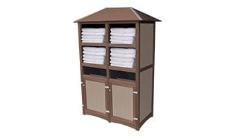 EasyCare Hampton Double Towel Station