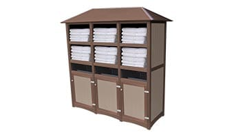 EasyCare Hampton Triple Towel Station