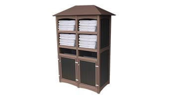 EasyCare Luxury Double Towel Station