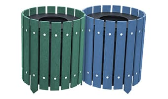EasyCare Round Double 10 Gallon Waste Enclosure