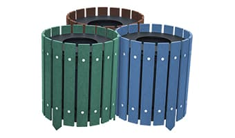 EasyCare Round Triple 10 Gallon Waste Enclosure
