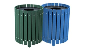 EasyCare Round Double 20 Gallon Waste Enclosure