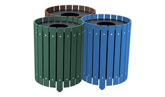 EasyCare Round Triple 20 Gallon Waste Enclosure