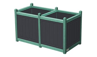 EasyCare Original Double Planter Box