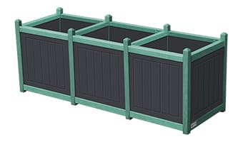 EasyCare Original Triple Planter Box