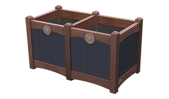 EasyCare Luxury Double Planter Box