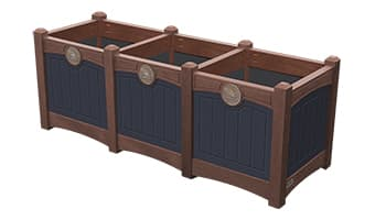 EasyCare Luxury Triple Planter Box