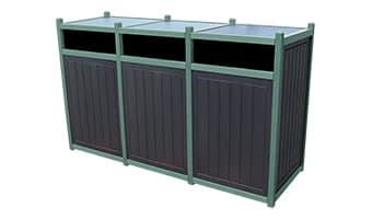 EasyCare Original Triple 55 Gallon Waste Enclosure