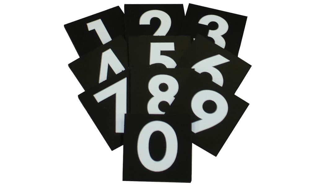 Interchangeable Number Plates | INP