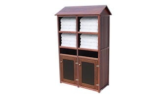 Rinowood Original Double Towel Station