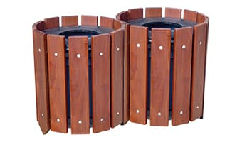 Rinowood Round Double 10 Gallon Waste Enclosure