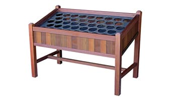Rinowood Hampton Tournament 40 Quart Bottle Rack