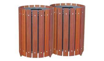 Rinowood Round Double 20 Gallon Waste Enclosure