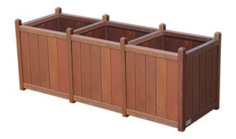 Rinowood Original Triple Planter Box