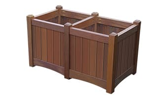 Rinowood Hampton Double Planter Box