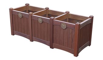 Rinowood Luxury Triple Planter Box