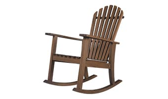 ipe adirondack rocking chair | tsc450