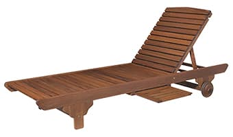 ipe traditional sunlounger | tsl100