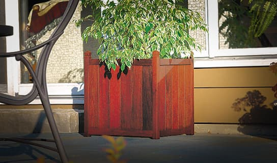 custom options for Planter Boxes