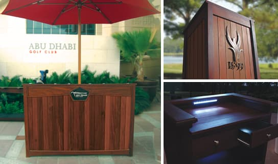 custom options for Podiums
