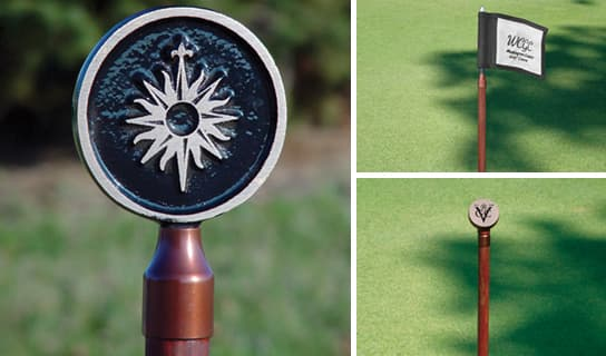 custom options for Putting Green Flagsticks