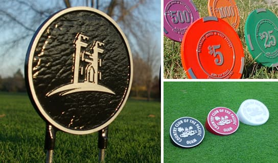 custom options for Tee Markers
